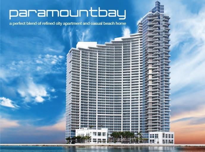 Paramount bay miami condos paramound bay condos for sale for Paramount on the bay