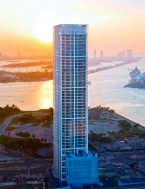 Ten Museum Park Miami Waterfront Condo Miami Real