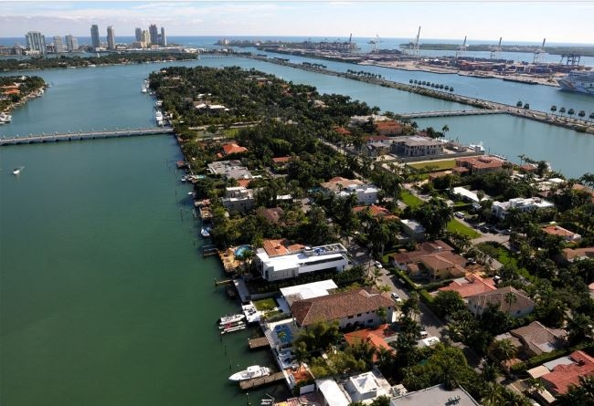 Palm Island Miami Beach Homes for Sale