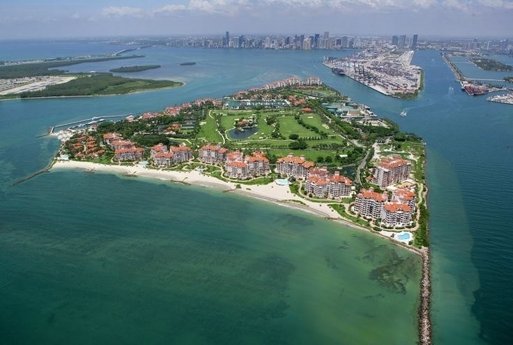 Fisher Island Homes and Condos