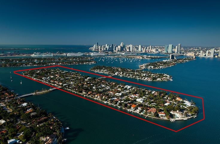 Dilido Island Waterfront Miami beach Homes