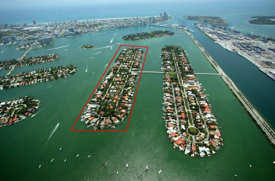 Hibiscus Island waterfront homes for sale