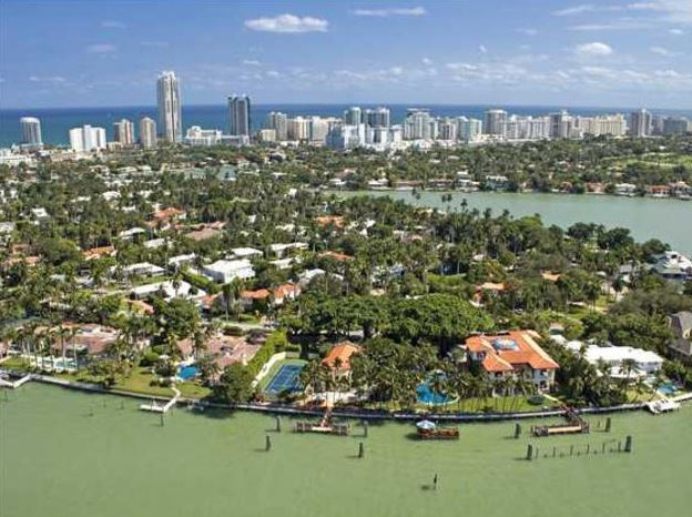 La Gorce Island Miami Beach Homes